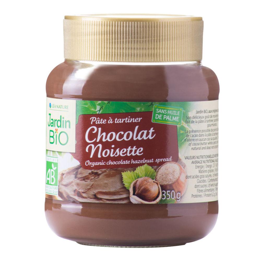 Pomazánka čokoládovo-lísková 350 g BIO JARDIN BIO