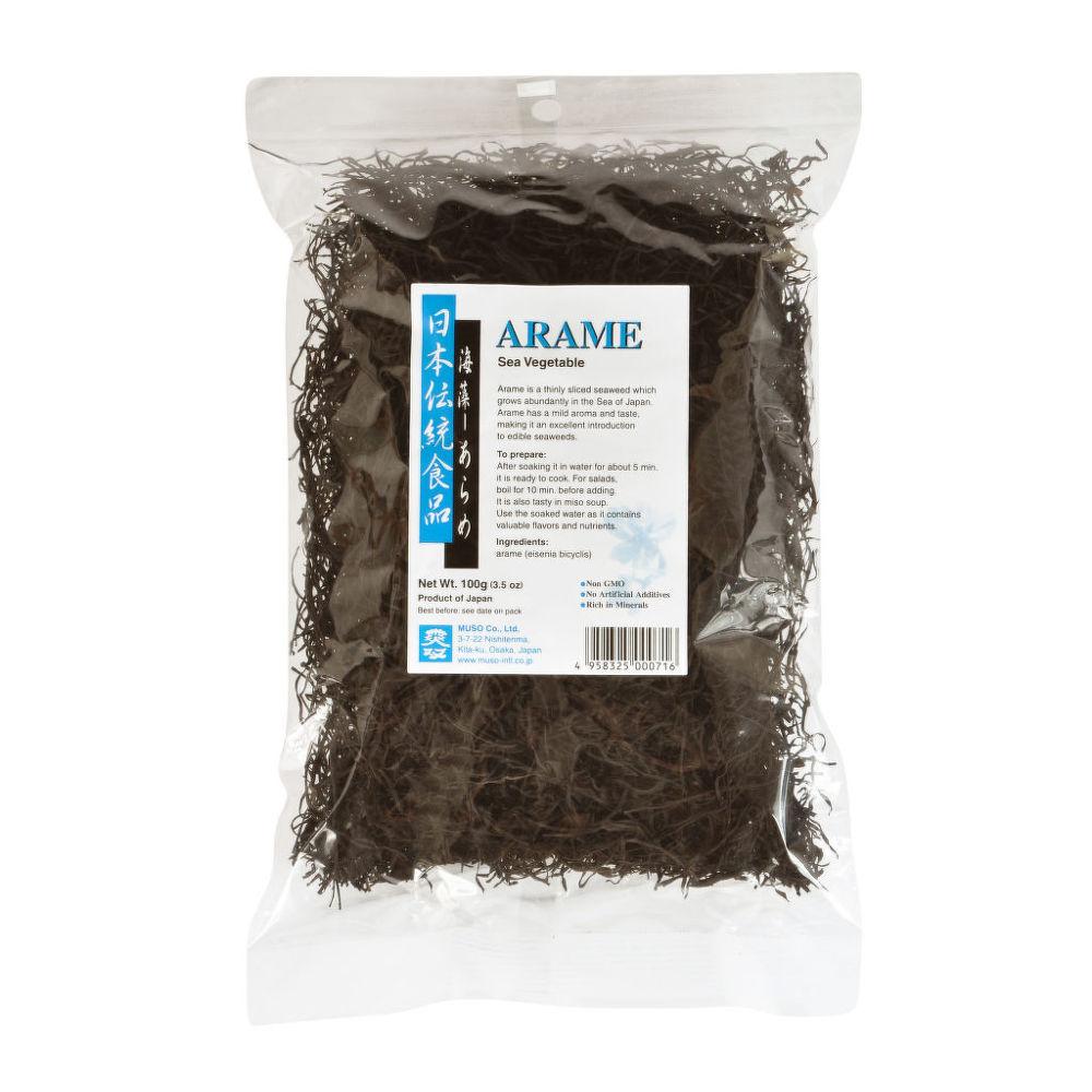 Mořské řasy Arame 100 g MUSO