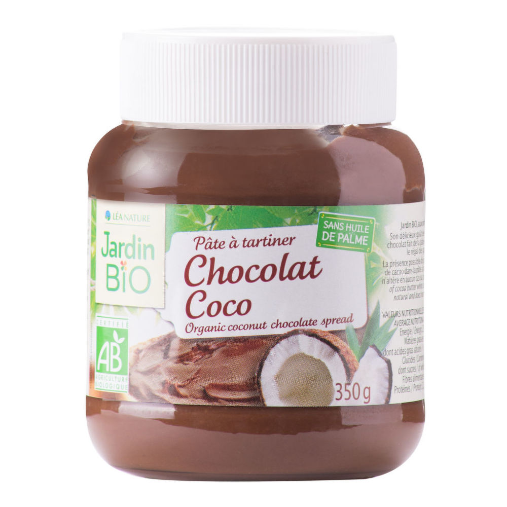 Pomazánka čokoládovo-kokosová 350g BIO  JARDINBIO