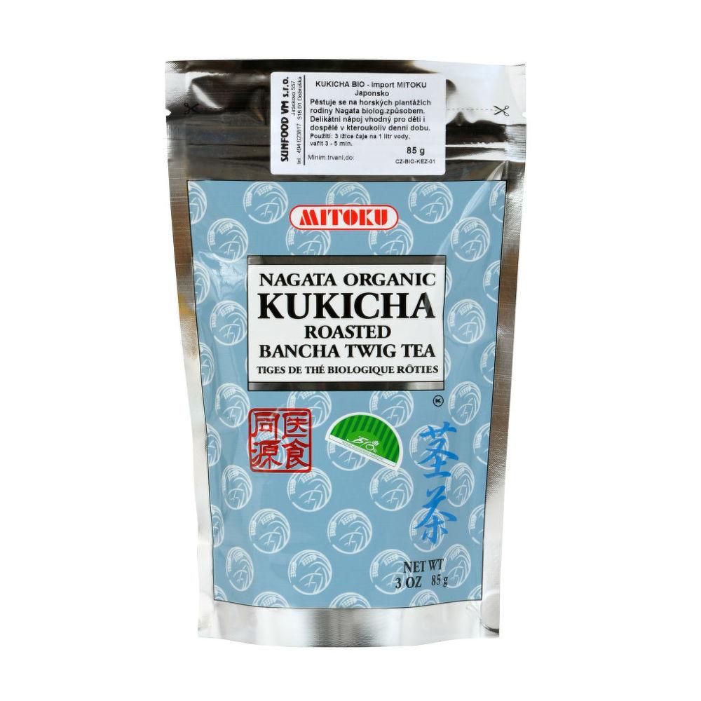 Čaj Kukicha sypaný 85g BIO   MITOKU