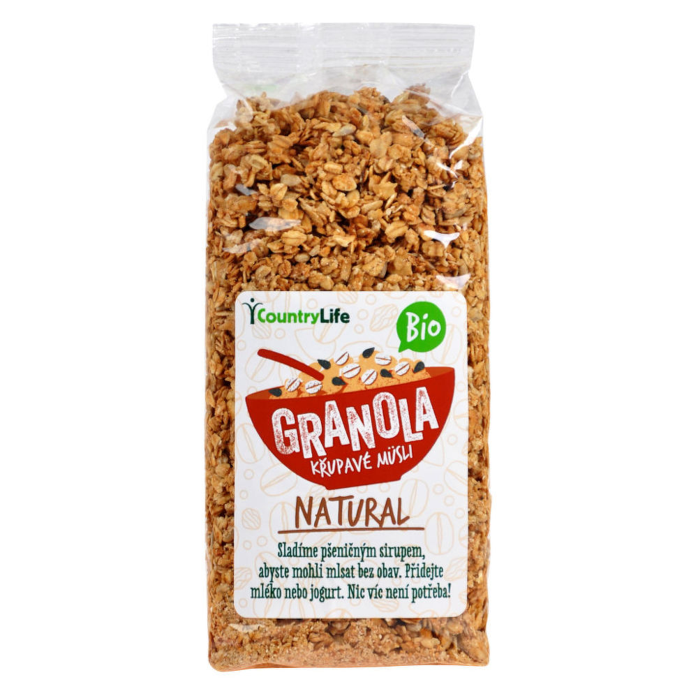 country life granola natural 350 g bio. Black Bedroom Furniture Sets. Home Design Ideas