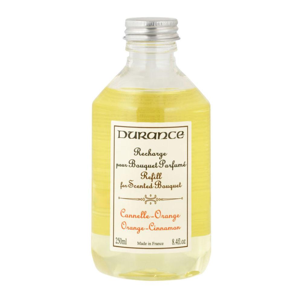 Náplň náhradní pro vonnou dekoraci skořice pomeranč 250 ml   DURANCE
