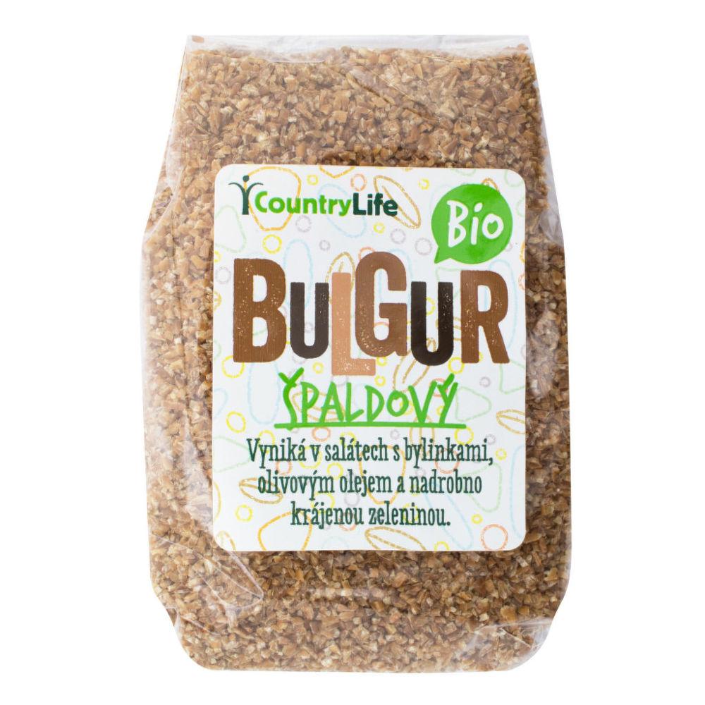 Bulgur špaldový 250g BIO   COUNTRYLIFE