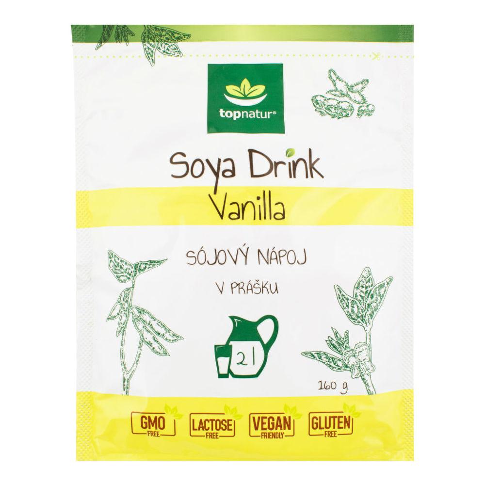 Nápoj Soya Drink Vanilla instantní 160 g TOPNATUR