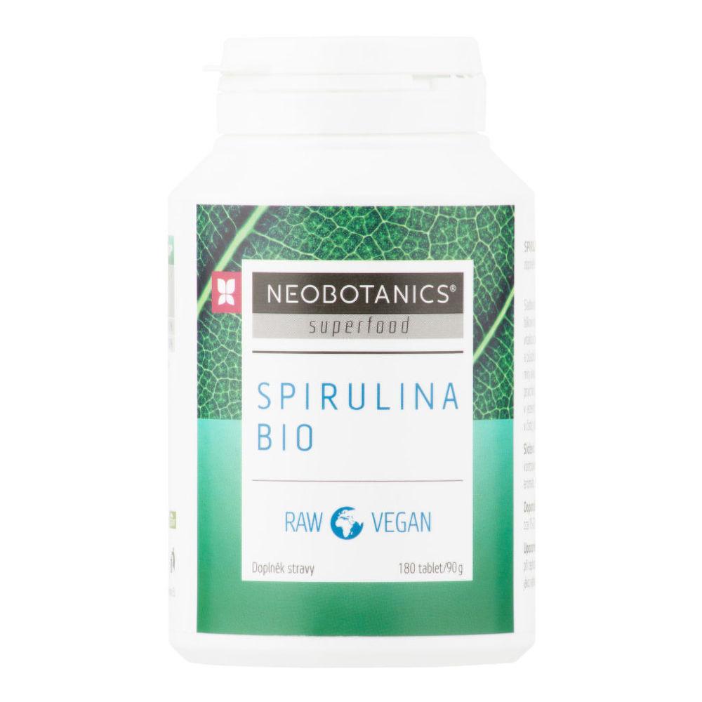 Spirulina 90 g/180 tablet BIO    NEOBOTANICS®