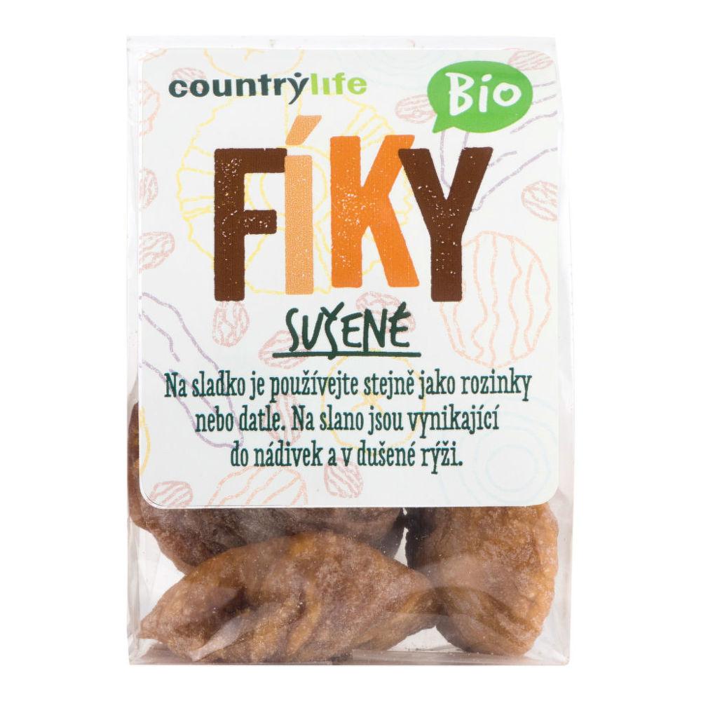 Fíky sušené 100 g BIO COUNTRY LIFE