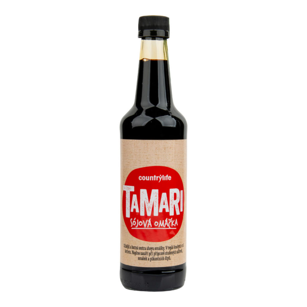 Tamari sójová omáčka 500 ml COUNTRY LIFE