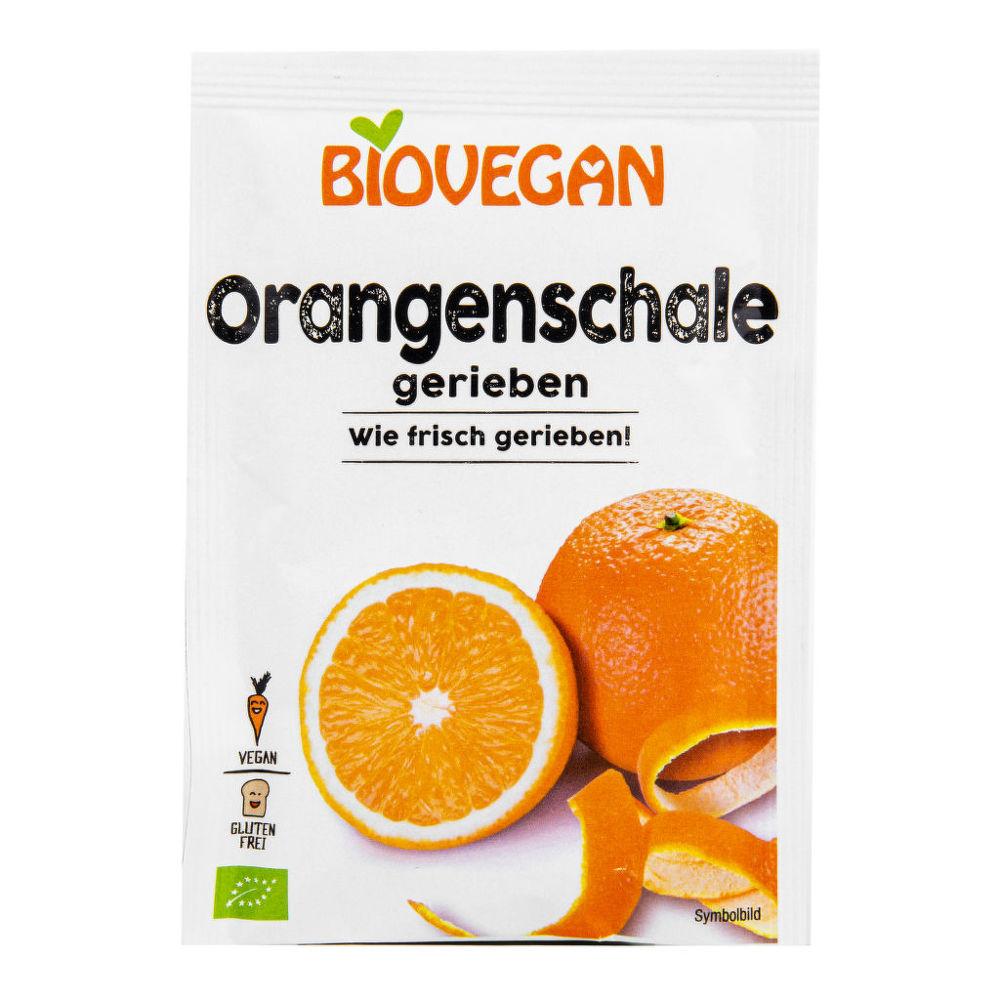 Pomerančová kůra strouhaná 9 g BIO BIOVEGAN