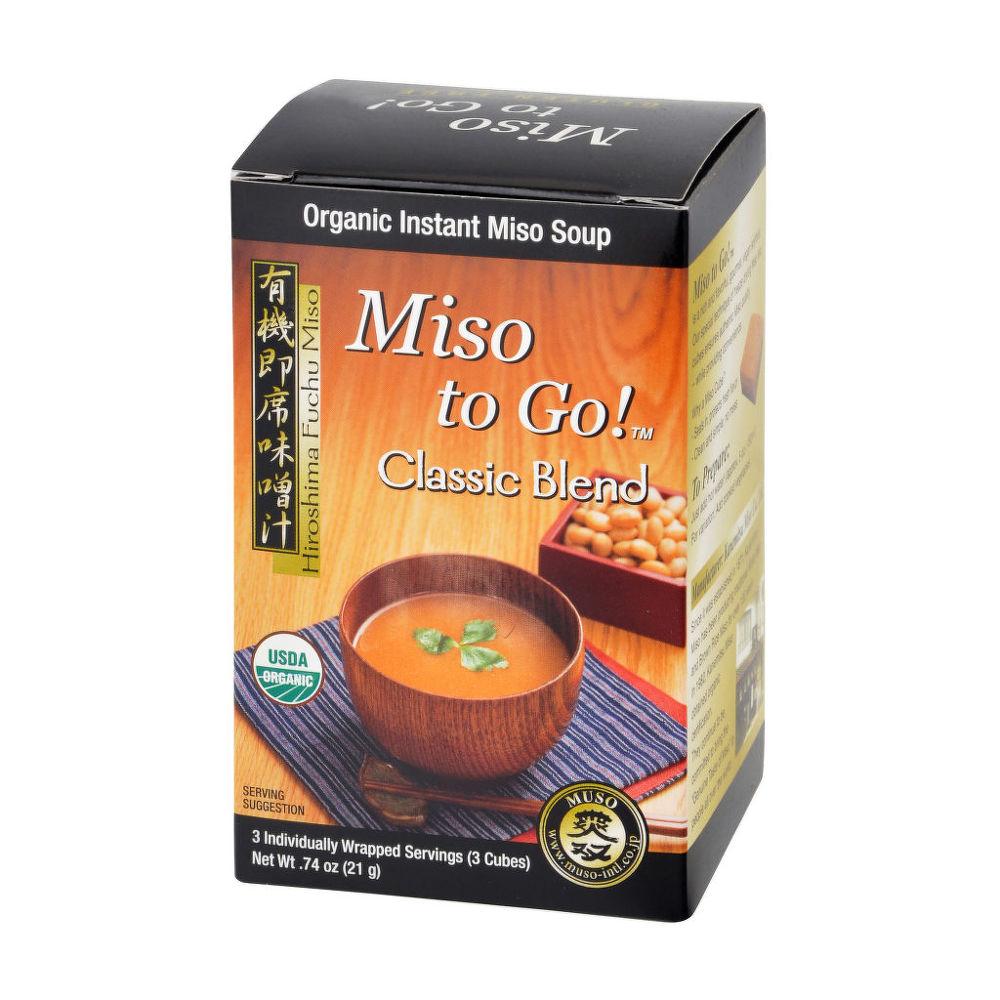 Polévka instantní Miso Classic Blend (3x7g) 21g BIO   MUSO