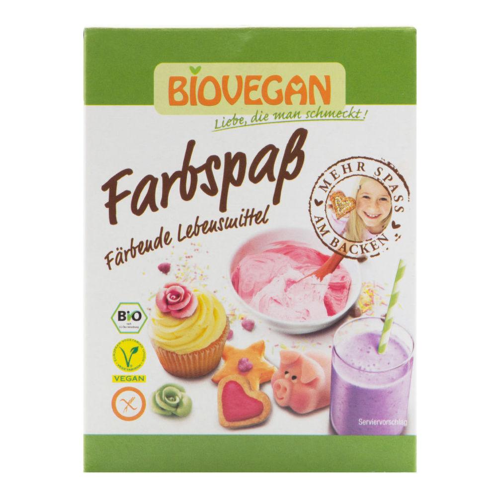 Potravinářské barvivo bezlepkové 5 x 8 g BIO BIOVEGAN