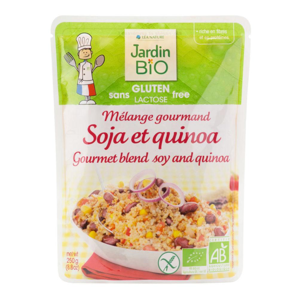 Hotový pokrm bezlepkový - sója a quinoa  250g BIO   JARDINBIO