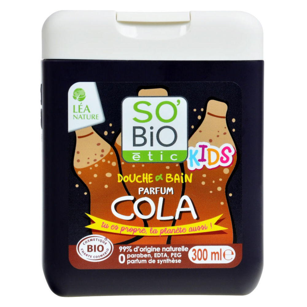 Gel sprchový a koupelový pro děti cola 300 ml BIO SO´BIO
