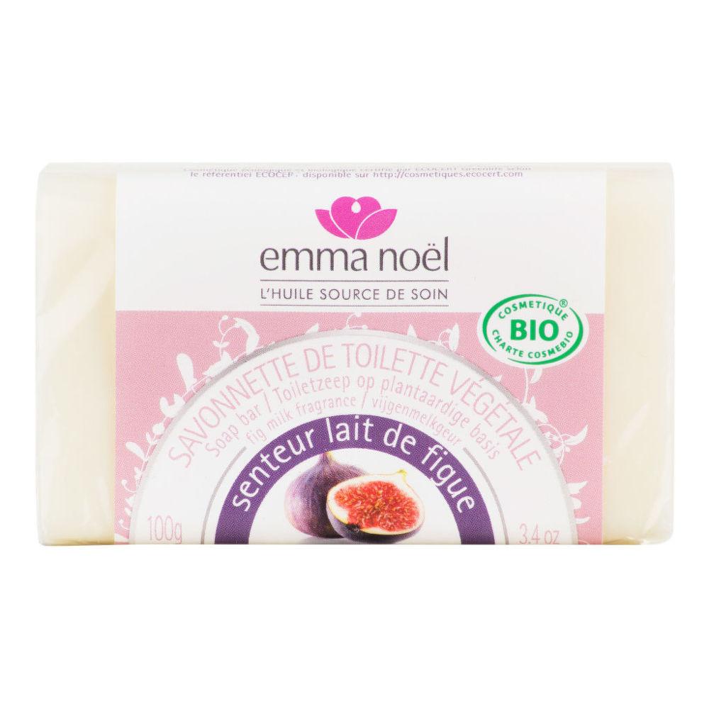 Mýdlo rostlinné fíkové mléko 100 g BIO   EMMA NOËL
