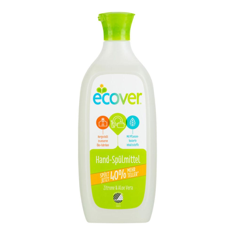 ECOVER  přípravek na mytí nádobí s aloe a citronem 500 ml