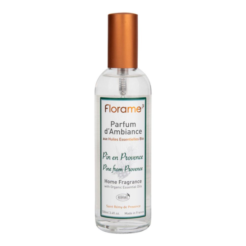 Vůně do bytu borovice v Provence s BIO éterickými oleji 100 ml FLORAME