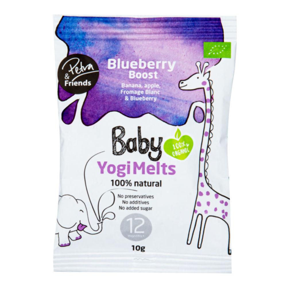 Baby Yogi Melts borůvka 10 g BIO NORDIC FOODIE