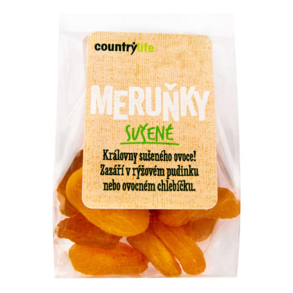Meruňky sušené 100 g COUNTRY LIFE