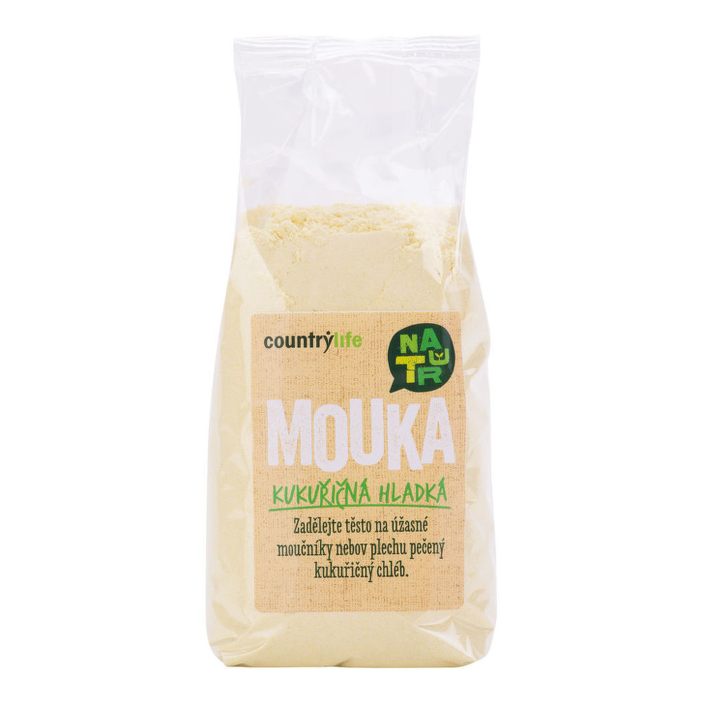 Mouka kukuřičná hladká 400g   COUNTRYLIFE