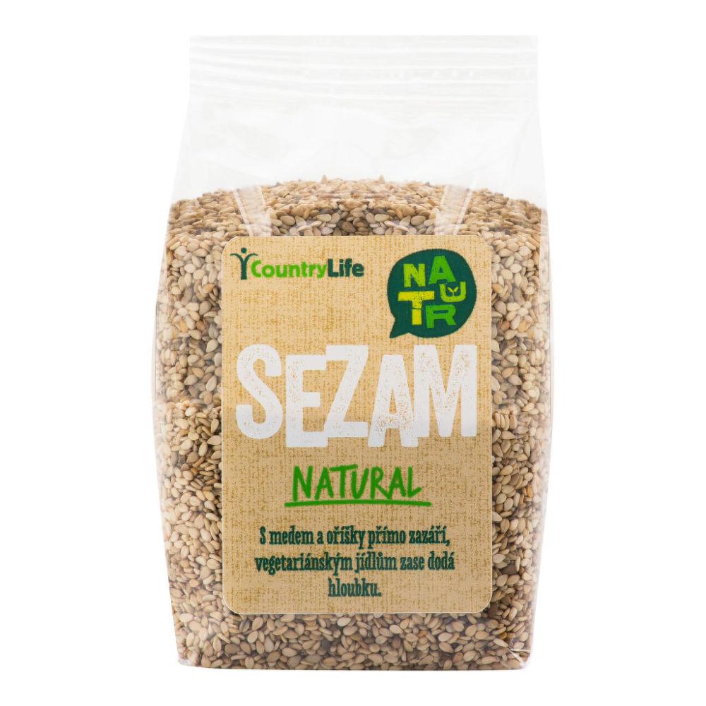 Sezam neloupaný 100 g COUNTRY LIFE