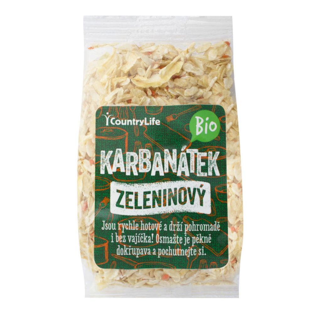Karbanátek zeleninový 200g BIO   COUNTRYLIFE