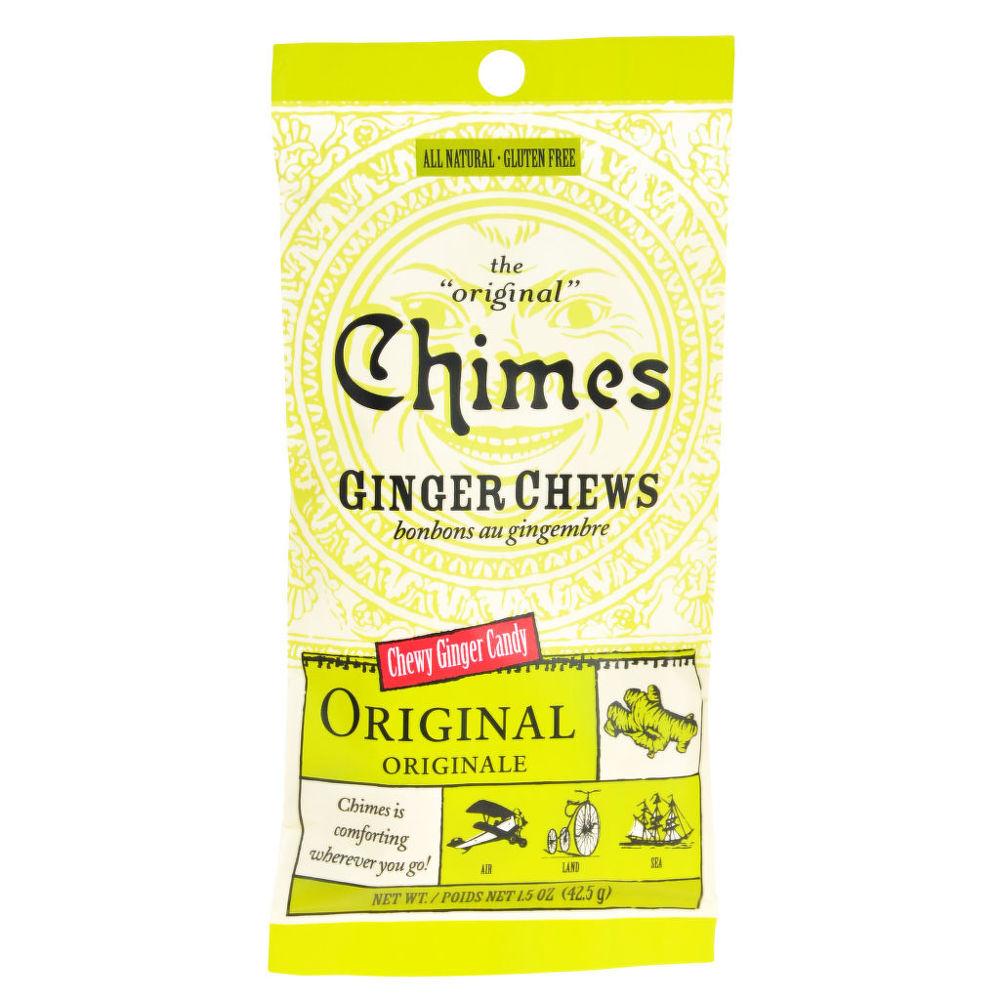 Bonbóny zázvorové 42,5 g   CHIMES