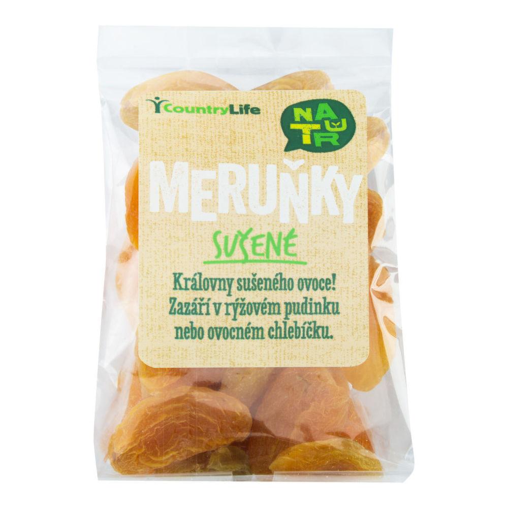 Meruňky sušené SO2  100g   COUNTRYLIFE