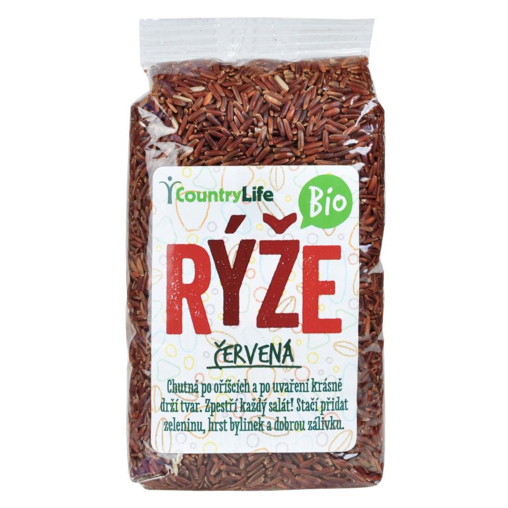Rýže červená natural 500 g BIO COUNTRY LIFE