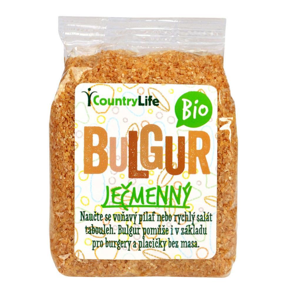 Bulgur ječmenný 250g BIO   COUNTRYLIFE