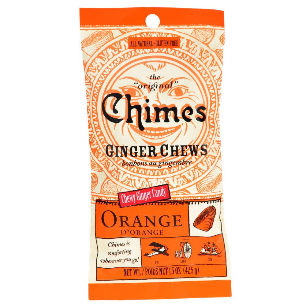 Bonbóny zázvorové s pomerančem 42,5 g   CHIMES