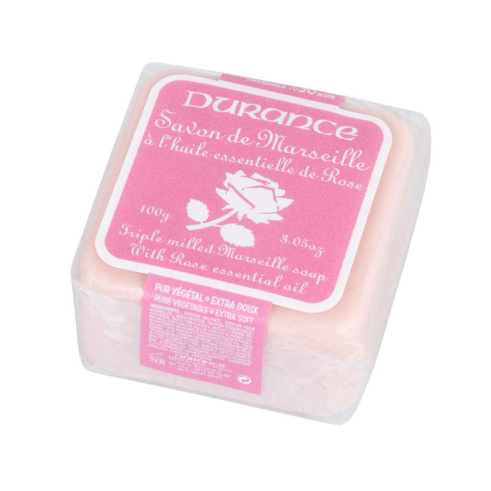 Mýdlo Marseille růže 100 g   DURANCE