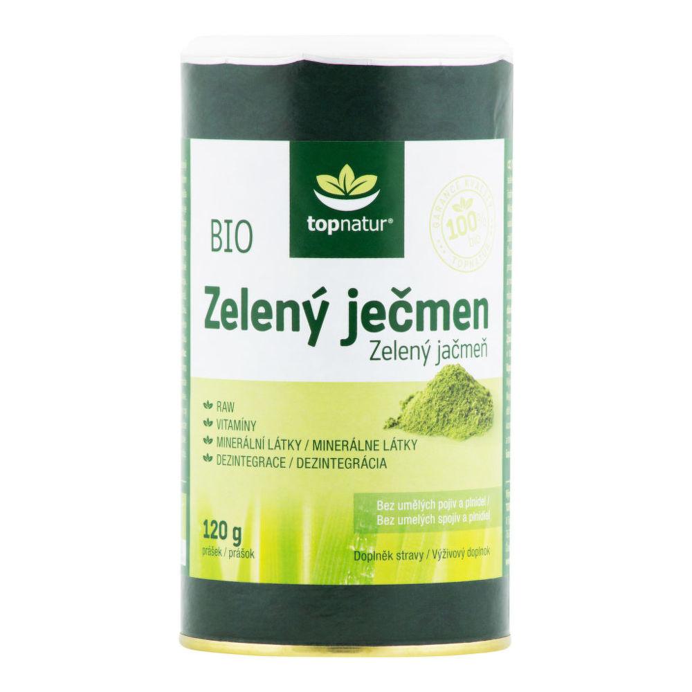 Ječmen zelený 120 g BIO   TOPNATUR