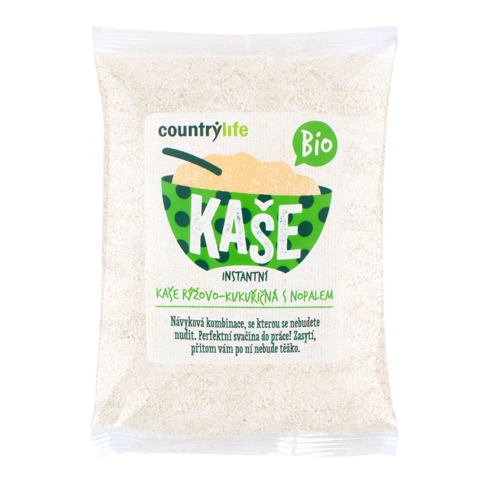 Kaše rýžovo-kukuřičná s nopalem 200 g BIO COUNTRY LIFE