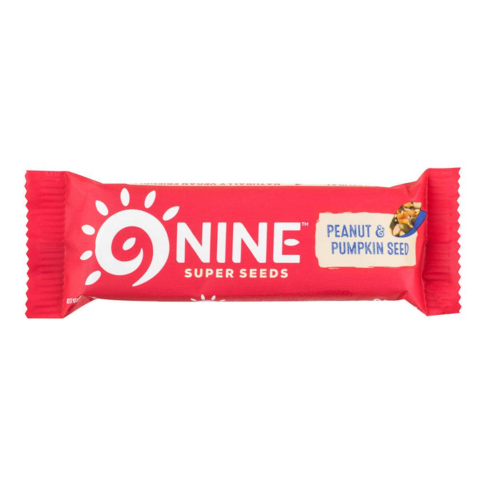 Tyčinka s arašídy bezlepková 40 g   9NINE