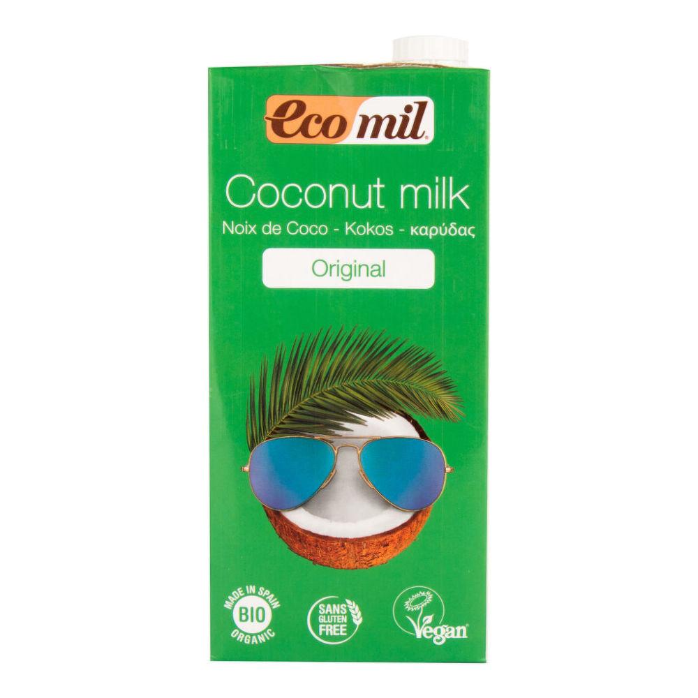 Nápoj z kokosu 1l BIO   ECOMIL