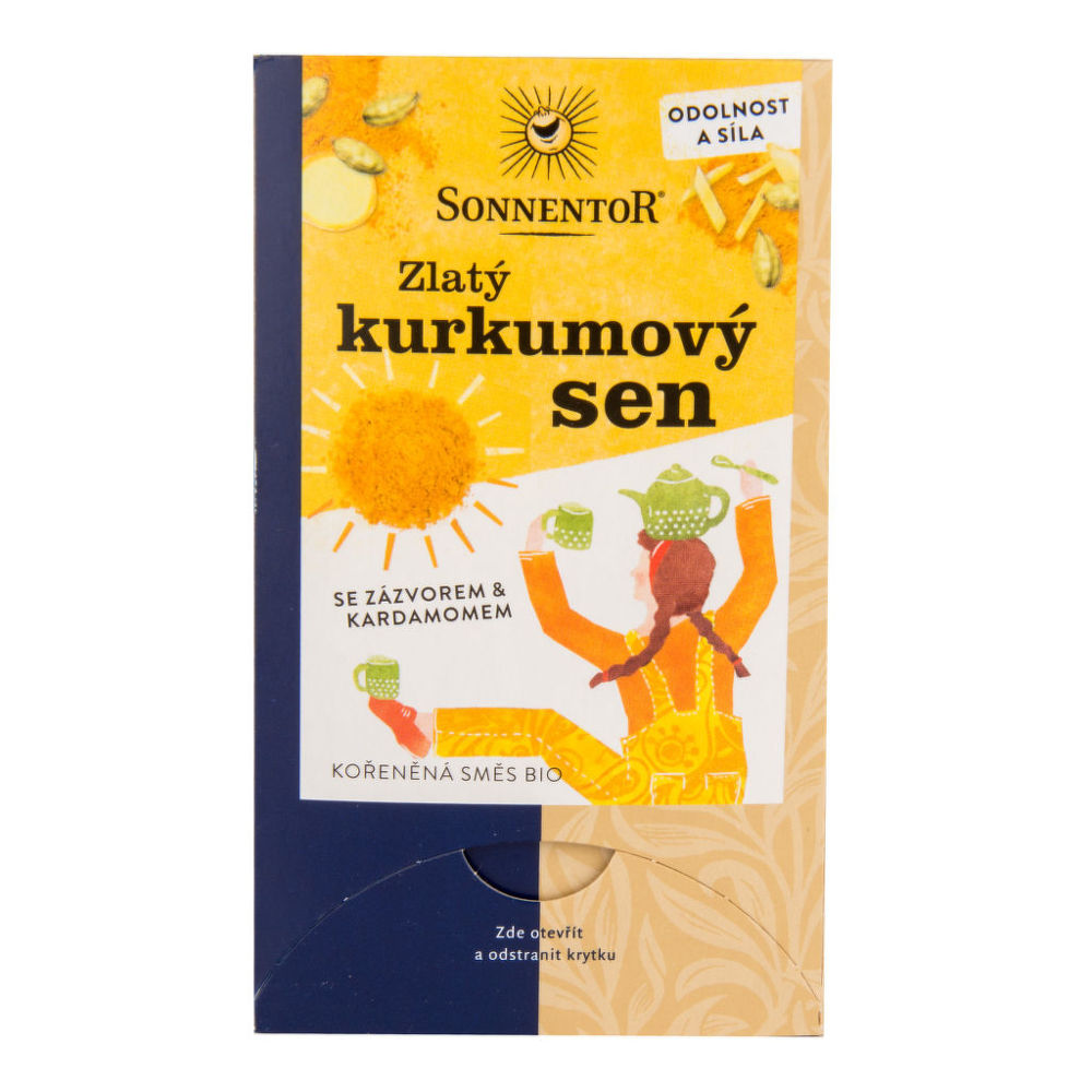 Čaj Zlatý kurkumový sen 36g BIO   SONNENTOR