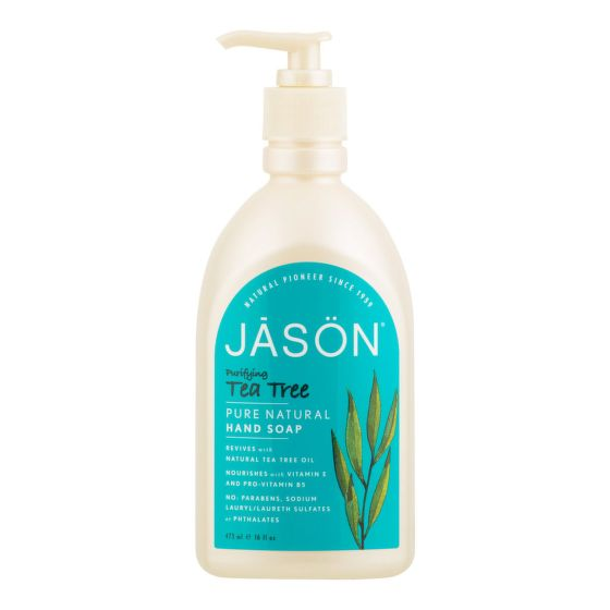 Mýdlo tekuté tea tree 473 ml   JASON