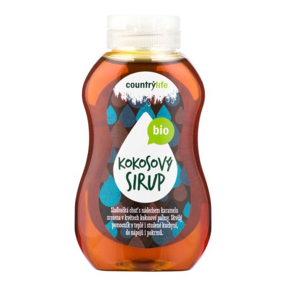 Sirup kokosový 250 ml BIO   COUNTRY LIFE