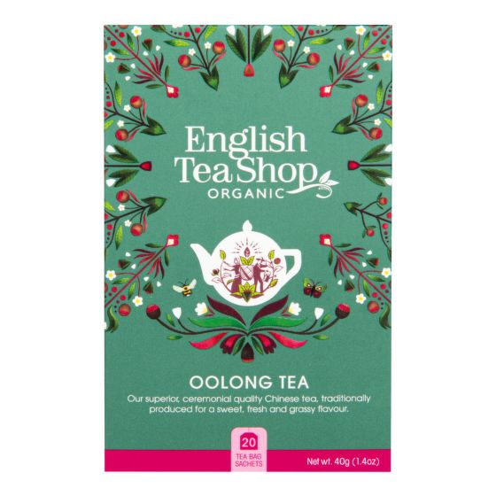 Čaj Oolong 20 sáčků BIO   ENGLISH TEA SHOP