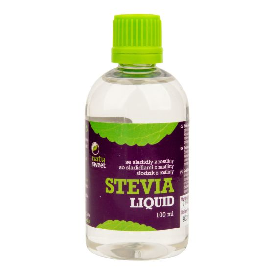 Sladidlo ze stevie liquid 100 ml   NATUSWEET CL