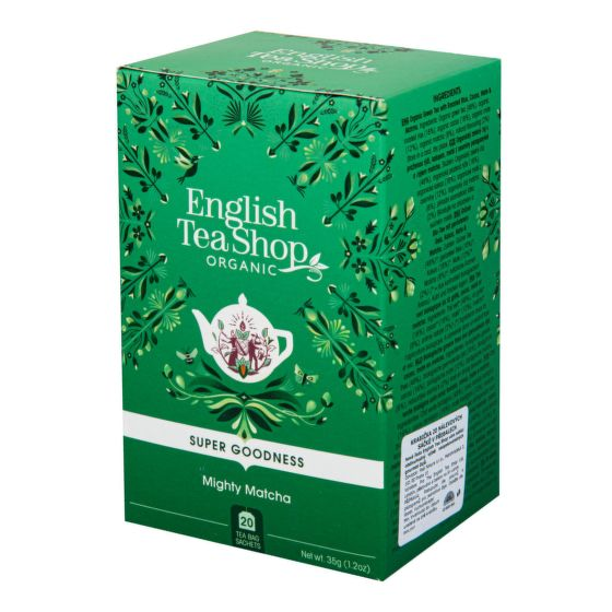 Čaj Mocná Matcha 20 sáčků BIO   ENGLISH TEA SHOP