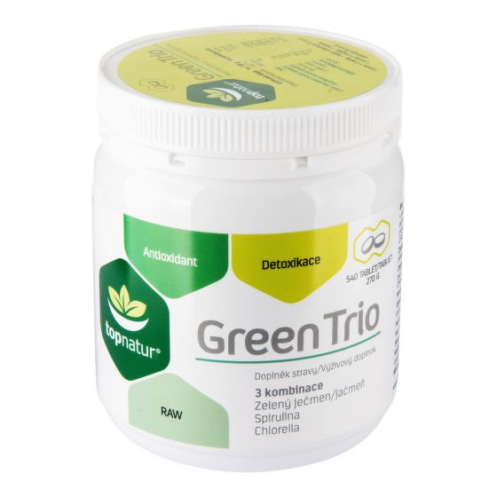 Green Trio 540 tablet 270 g   TOPNATUR