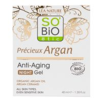 Gel noční 50 ml BIO Anti-age  Precieux Argan   SO'BiO étic