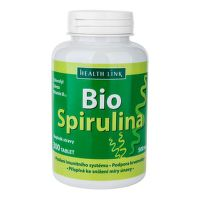 Spirulina s vitaminem B12  300 tablet × 500 mg BIO   HEALTH LINK