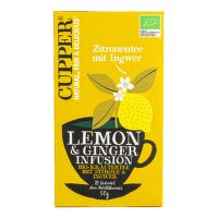 Čaj Lemon & Ginger 50 g BIO   CUPPER