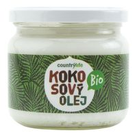 Olej kokosový 300 ml BIO   COUNTRY LIFE