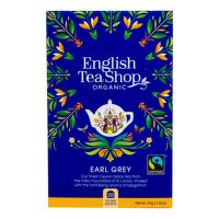 Čaj Earl Grey Fair Trade 20 sáčků BIO   ENGLISH TEA SHOP