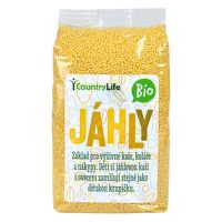 Jáhly 500 g BIO   COUNTRY LIFE