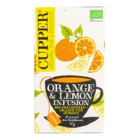 Čaj Orange & Lemon 50 g BIO   CUPPER