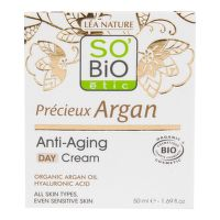 Krém denní 50 ml BIO Anti-age Precieux Argan   SO´BIO étic