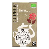 Čaj English Breakfast 50 g BIO   CUPPER